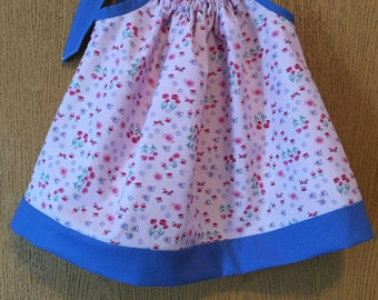 Size 3-6m Pillowcase dress, infant girl's summer dresses, baby clothes
