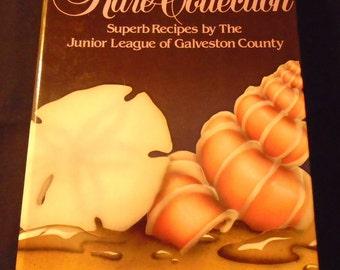 Rare Collection Junior League of Galveston County Texas Cookbook 1980s Vintage Spiral Hardcover Collectible