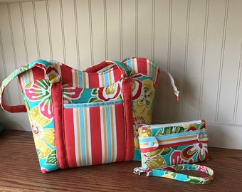 Spring purse, Summer purse, Bags and Purses, Fabric Bags and Purses, handbags, totes, Shoulder bags