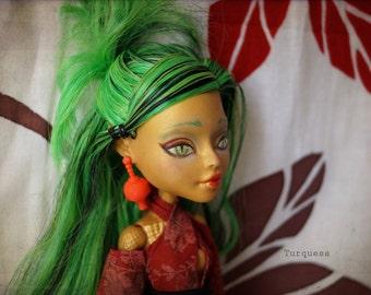 Monster High dragon woman (Jinafire Long) OOAK Doll Custom