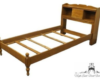 crawford furniture jamestown ny solid maple twin size bookcase bed