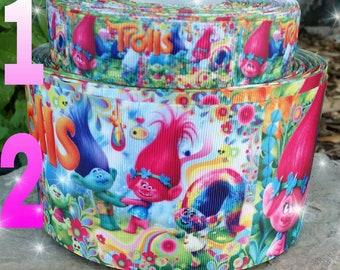 Trolls Ribbon, trolls crafts, poppy ribbon,  ribbons,  trolls