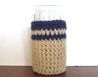 Hand Crocheted Glass Sleeve