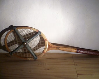 Fifties  wooden tennis racket