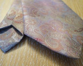 Cashmere printed necktie - vintage
