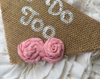 Best dog wedding bandana burlap country rustic engagement  photo prop i do too
