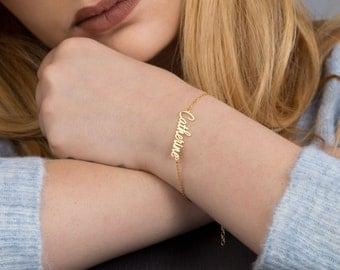 Name Bracelets, 925 sterling silver name neckalce
