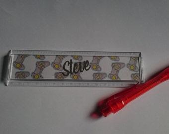 Kid's ruler - Geek Ruler - personalised ruler - Gaming Ruler - school ruler - named ruler - wedding favour - christmas present