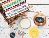 Congratulations on Growing Your Very Own Tiny Human Being Gift Box - Congratulations Gift |New Parents Gift | New Baby Gift | New Mom Gift