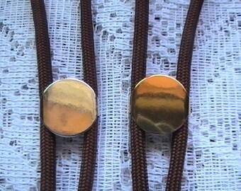 Jewelry Kit, Bolo Tie Kit, Silver Bolo Tie Kit, Gold Bolo Tie Kit, Black, Brown, Diy Craft Supplies, Western Tie Kits, Custom Bolo Tie Kits