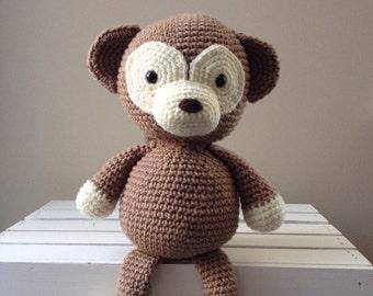 Monkey Doll, crochet, amigurimi