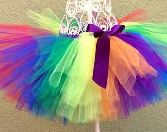 Baby Tutu, Rainbow Baby Tutu, Pride Tutu, Toddler Tutu, Newborn Tutu, First Birthday Tutu, Photo Prop Tutu, Girls Tutu,  Birthday Tutu. Tutu