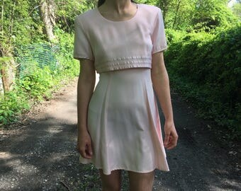 Small/Medium Mini Dress ~ 1990s Vintage