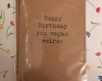 vegan / birthday / fun / occasion / friend /