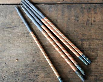 5 Vintage Antique Slate Pencils-Patriotic Americana