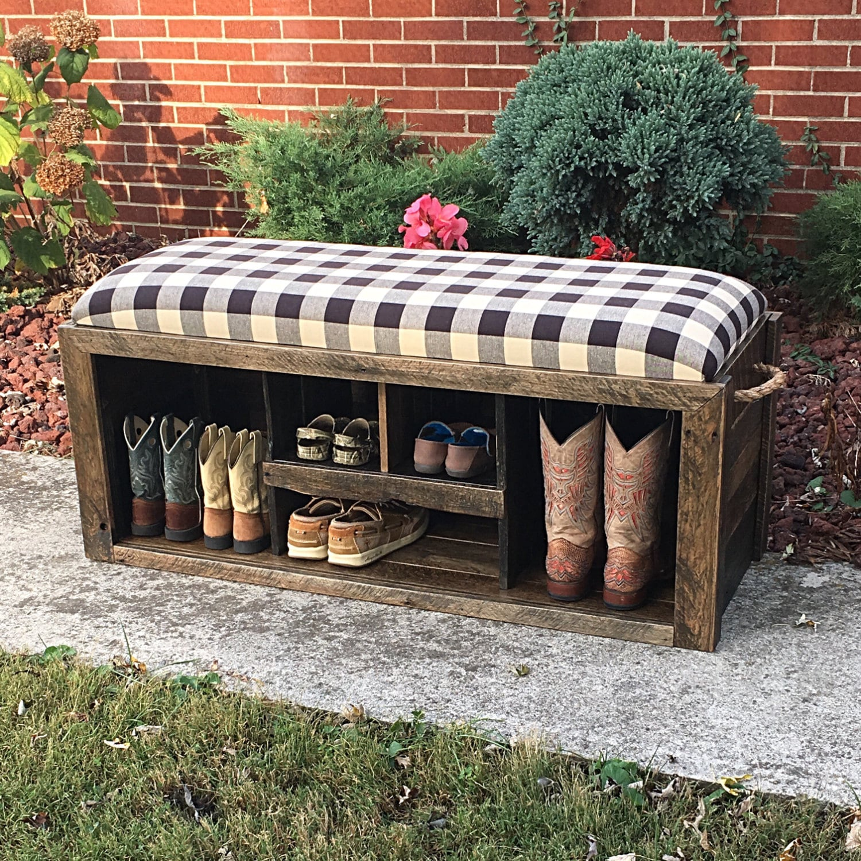 entryway bench shoe bench shoe rack storage bench shoe. Black Bedroom Furniture Sets. Home Design Ideas