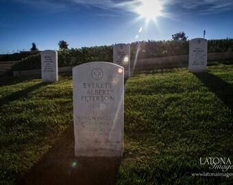 In Memorial, San Diego, CA