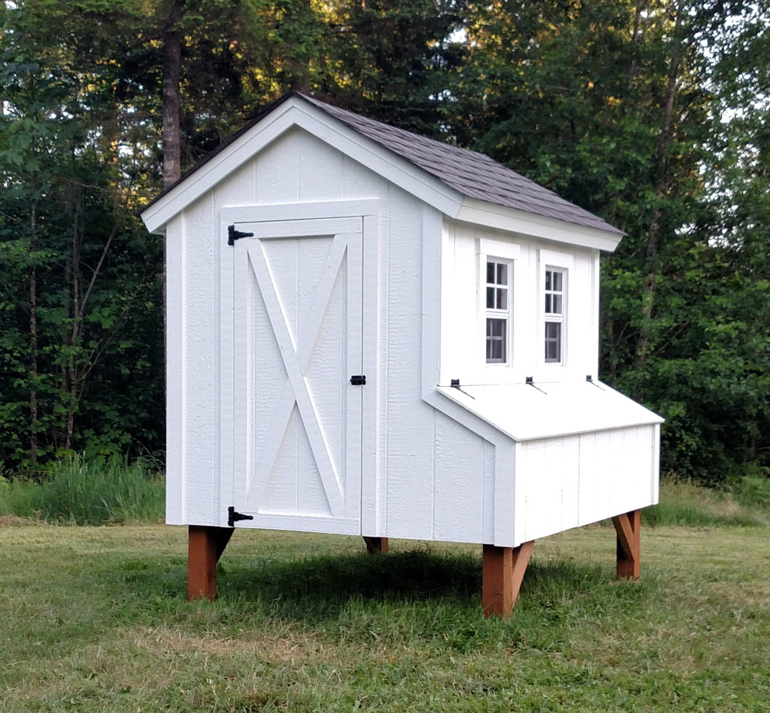 Build a chicken coop from shed chicken house plans for A frame chicken