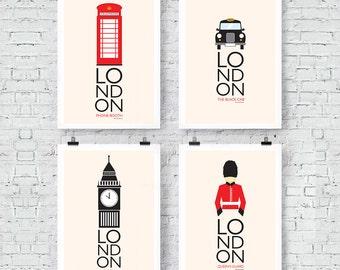 London Inspired: Wall Art Prints