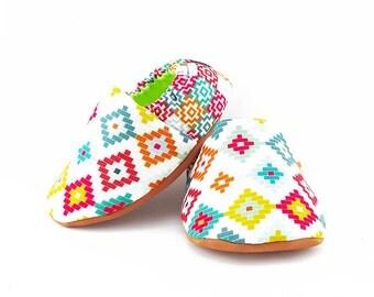 Exotic Marrakech Baby Booties