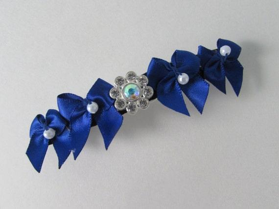 Sapphire barrette