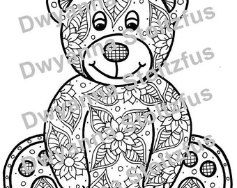teddy bear coloring pages for adults - shaving time sexy coloring pages for adults from the chubby