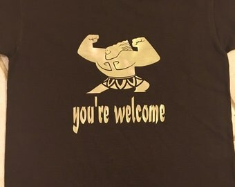 You're Welcome, Mini Maui shirt