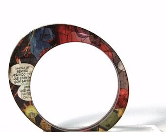 Bracelet oval Comic