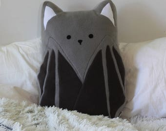"Bat Pillow 23.6"" 60cm"