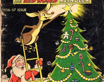 Rudolph The Red-Nosed Reindeer 1956-57 Issue