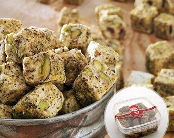 Double Roasted Pistachio Turkish Delight (250/500 grams optional)