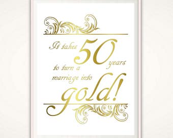 50th anniversary print 50th anniversary gifts for parents 50th anniversary gifts for parents 50th anniversary print wedding anniversary poster golden anniversary stopboris