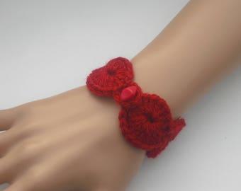 Bracelet - crochet - fashion bracelet - bracelet - Cuff Bracelet