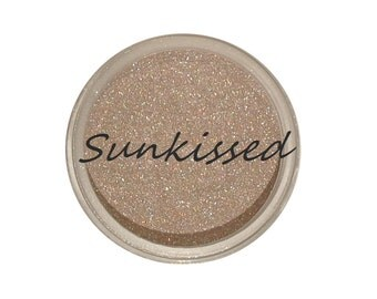 Mineral Highlighter, 'SUNKISSED', Vegan, Cruelty-free, Acne safe, 3g Sifter Jar