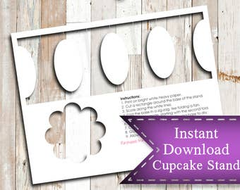 Cupcake Stand Etsy