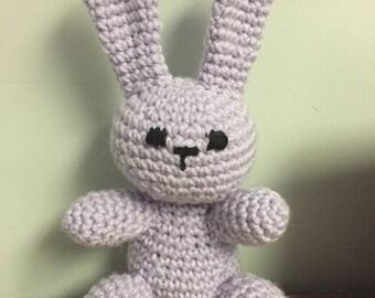 Crochet Bunny, Rabbit Toy, Plushie Pattern