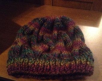 Jewel Bulky Weight Hat  - Acrylic