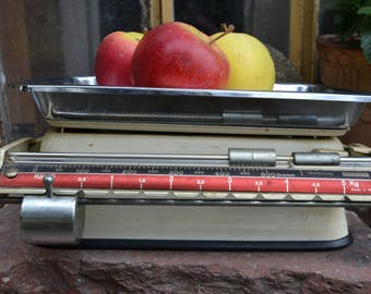 Vintage kitchen scale Stube .Made in West Germany 1950s