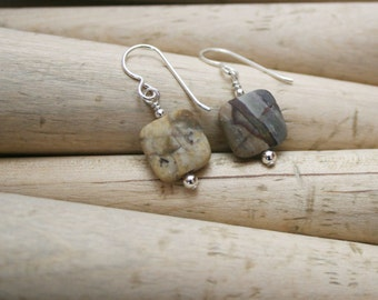 Beautiful River Rock Earrings