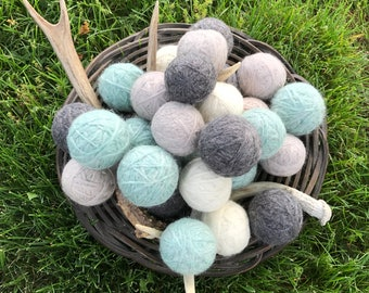 Handmade 100% Wood Dryer Balls Scented and Unscented