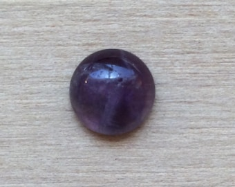 80% Off Purple Amethyst Round Cut Loose Cabochon Gemstone 9mm 2.39ct Natural Gemstones At Wholesale Pricing A379