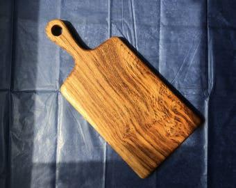 Tiger oak chopping / serving board
