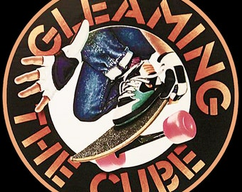 80's Skateboarding Classic Gleaming The Cube Poster Art custom tee Any Size Any Color