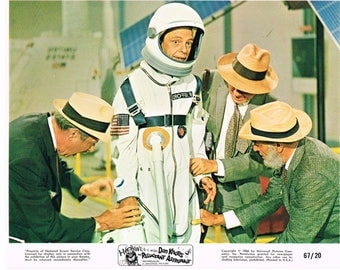 The Reluctant Astronaut – 1967 –  mini lobby card