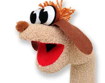 Dog Sock Puppet Hand Puppet
