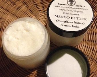 Mango Butter (Mangifera indica) - 100% Pure, Organic, Cold-Pressed