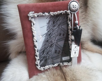 native american picture frame, rustic picture frame, rustic photo frame, native photo frame