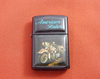 Vintage Cigarette Lighter American Rider