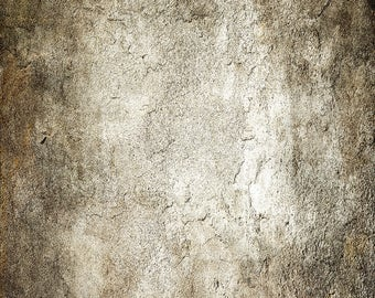 Grey Stone Wall Backdrop - old washed vintage stone - Printed Fabric Photography Background w1215
