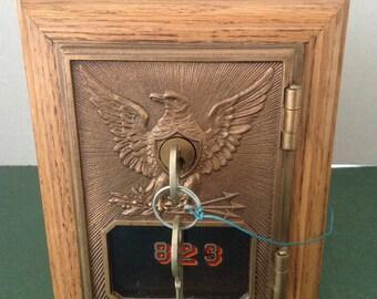 Post Office Mailbox Door  Bank